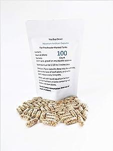 You Buy Direct 100 Osmocote Plus Root Tabs (Size 00) Gelatin Capsules Aquarium Fertilizer Capsules