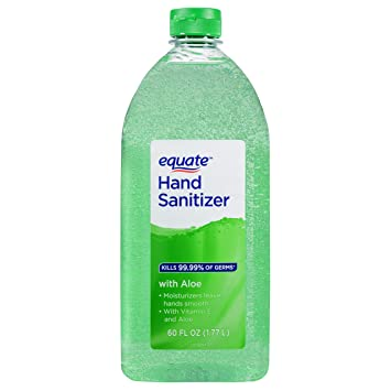 Amazon com: Equate With Aloe And Vitamin E Hand Sanitizer