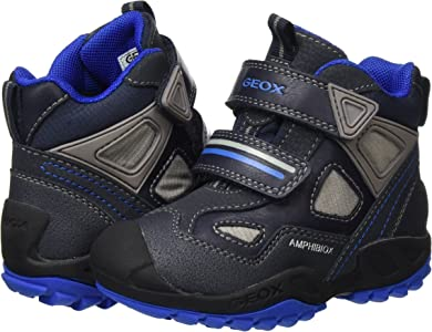 Geox J New Savage Boy A, Chaussures Avec Fermeture Velcro