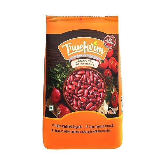 Truefarm Foods Organic Red Kidney Beans 500g Amazon In Grocery Gourmet Foods