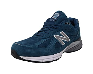buy online 61b94 ee6ef Amazon.com   New Balance Mens 990v4 Running Shoe, North Sea ...