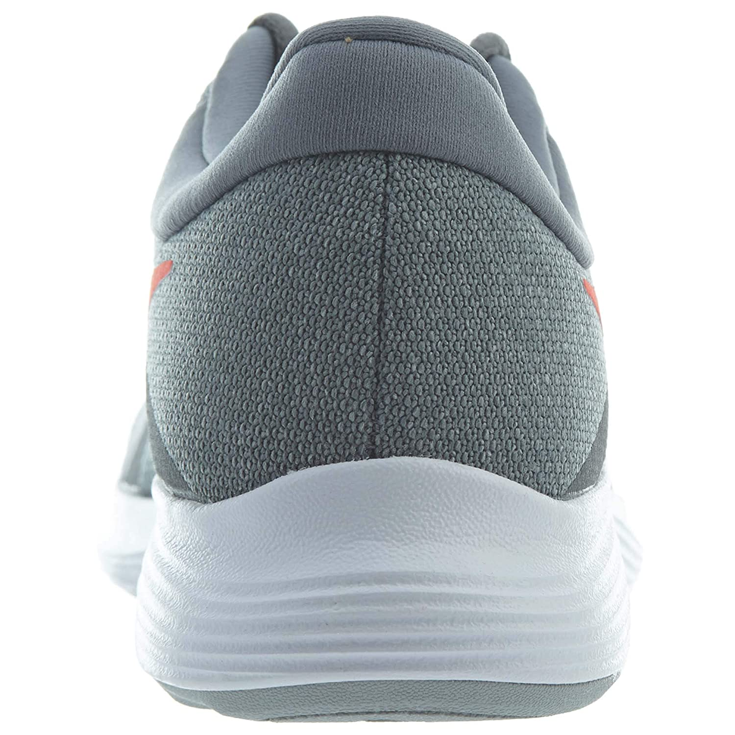 390b3a3f91d3b NIKE Men s Revolution 4 Cool Grey Habanero Red - Wolf Grey - White Running  Shoes 908988-013  Buy Online at Low Prices in India - Amazon.in