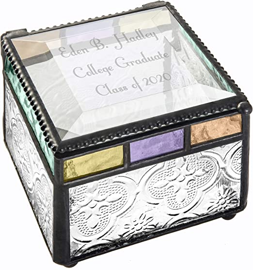 Personalised Treasure Trunk Trinket Jewellery Box for Girls Women Bridesmaids