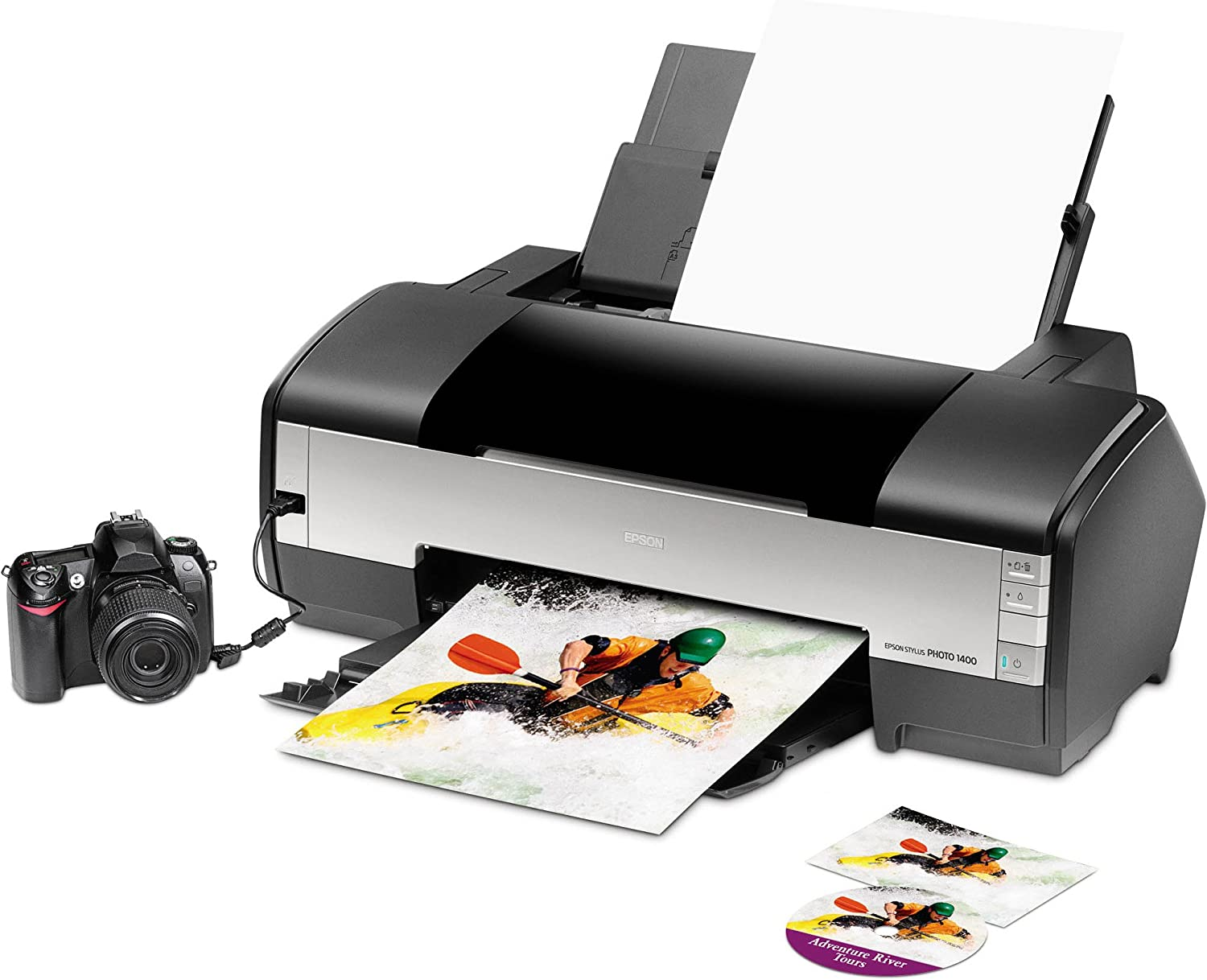 Epson Stylus Photo 1400 Wide-Format Color Inkjet Printer (C11C655001)