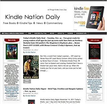 Kindle Nation Daily Amazon Co Uk Kindle Store