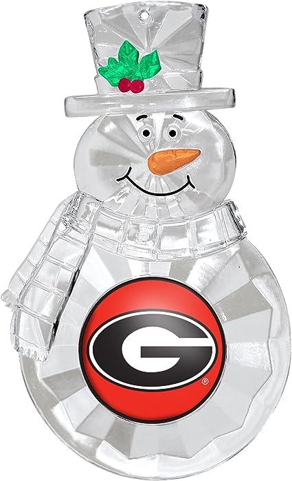NCAA Georgia Bulldogs Four-Pack Sports Ornaments