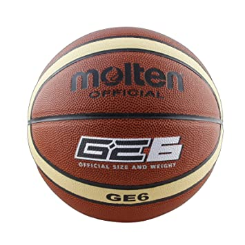 MOLTEN Balón Baloncesto BGE Talla 6: Amazon.es: Deportes y aire libre