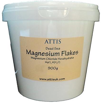 ATTIS - Hojuelas de Cloruro de Magnesio del Mar Muerto - 900g