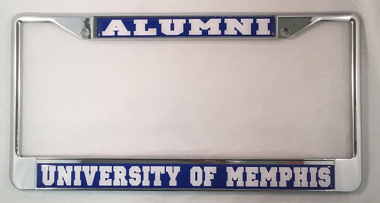 Amazon.com: University of Memphis Alumni License Plate Frame: Garden ...