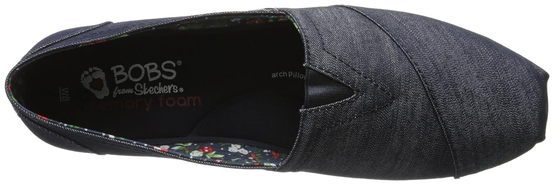 Skechers BOBS B00PRA4XXI from Women's Plush Flat B00PRA4XXI BOBS 10 B(M) US|Denim b2d512