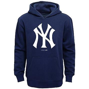 MLB New York Yankees niños principal Logo sudadera con capucha para mujer, Athletic azul, talla 14/16: Amazon.es: Deportes y aire libre