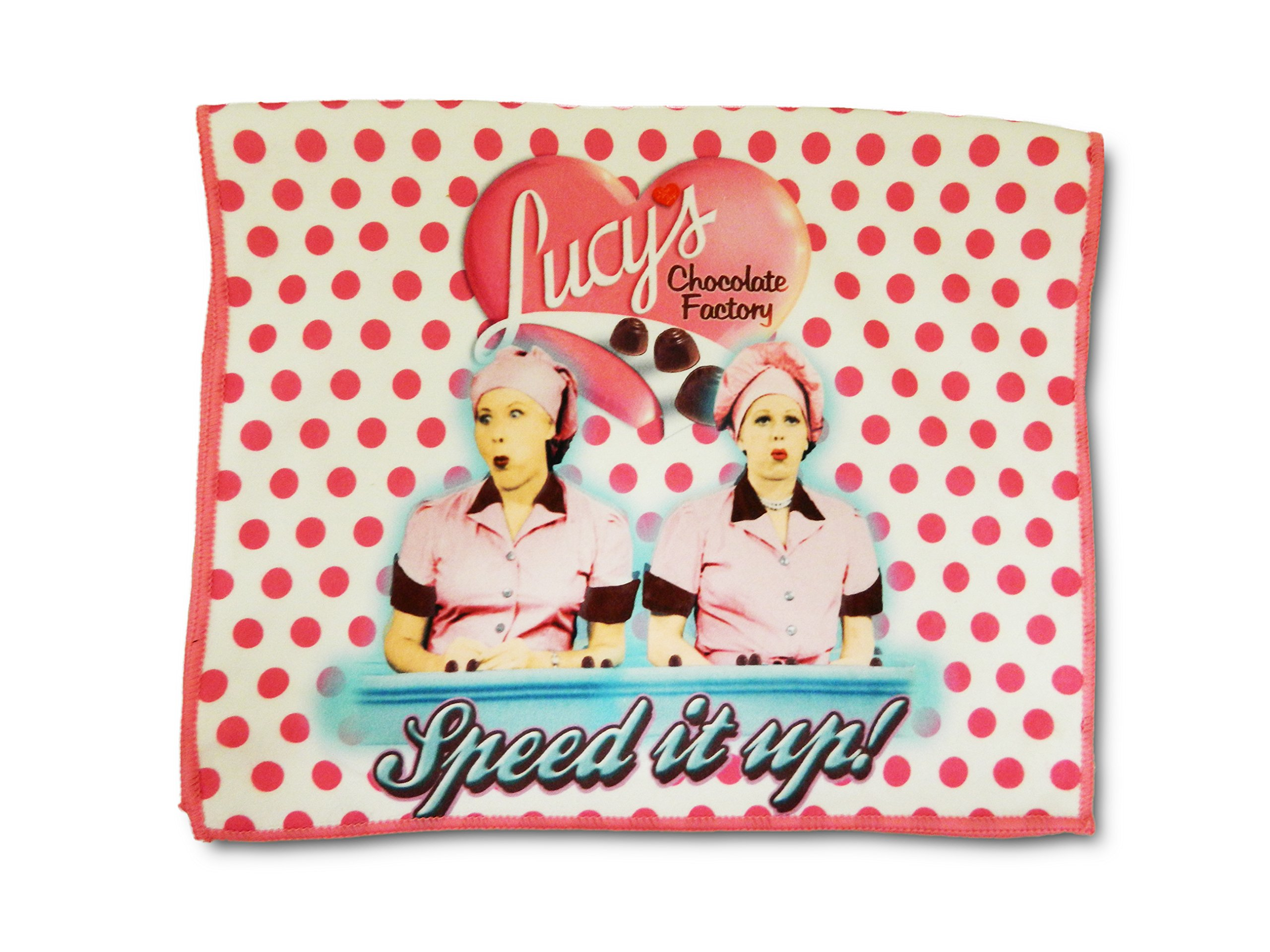 Midsouth Products I Love Lucy Kitchen Towel - Chocolate Factory by Midsouth Products (Image #1)