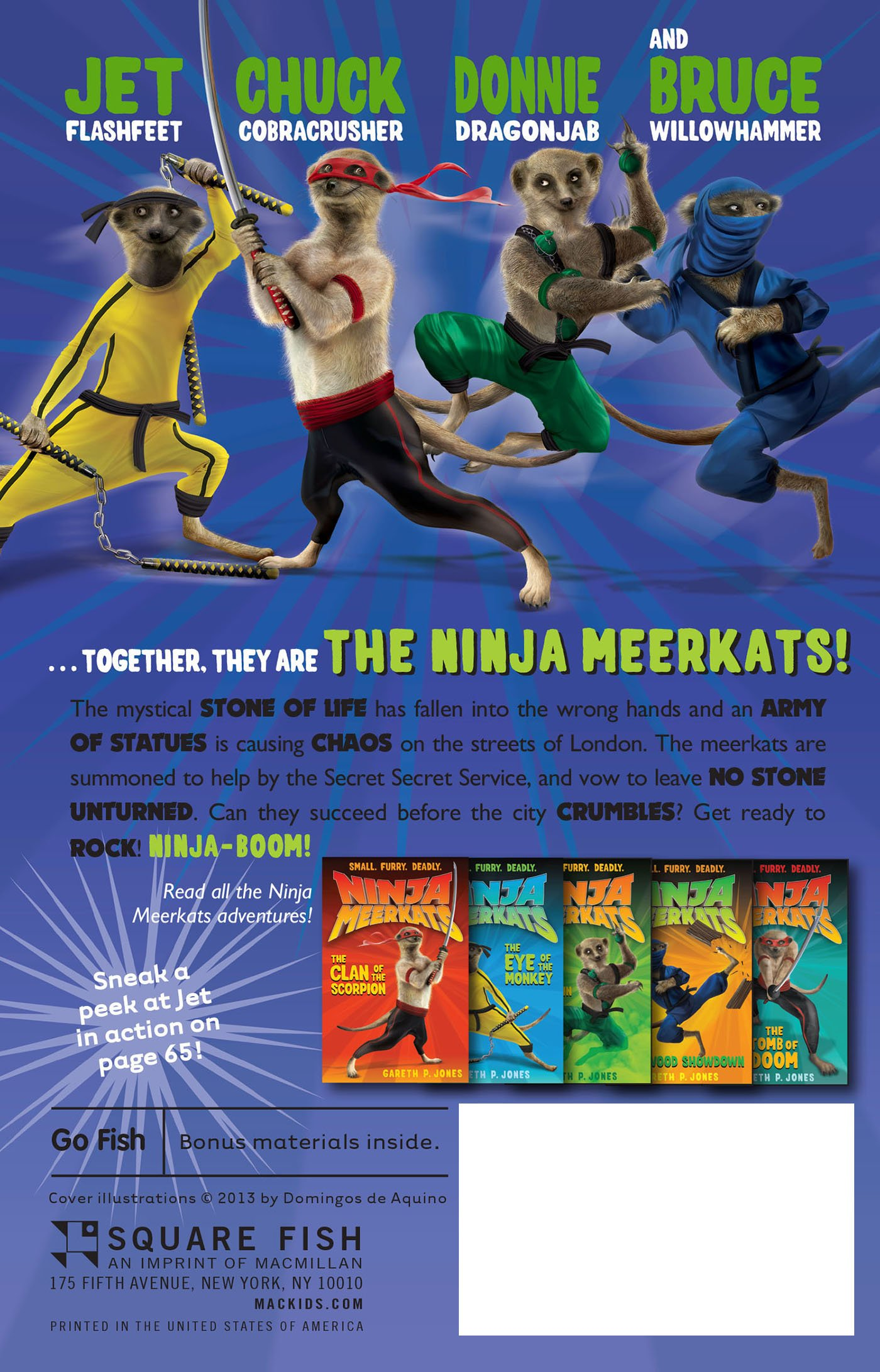 Ninja Meerkats (#6): Big City Bust-Up: Amazon.es: Gareth P ...