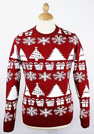 The Night Before Christmas Jumper Retro Xmas Sweater Small 36