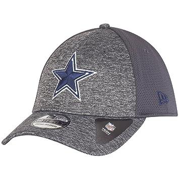 New Era 39Thirty Cap Shadow Dallas Cowboys Graphite