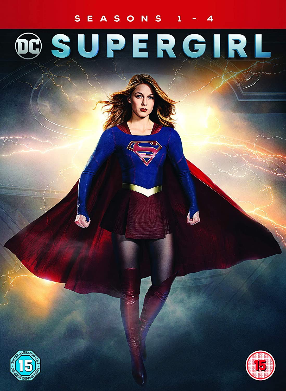 2019 DVD Supergirl Season 4