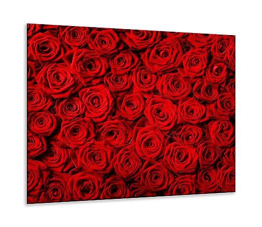 Placa de vitrocerámica, 1 Pieza, 60 x 52, Color Rosa, Rojo ...