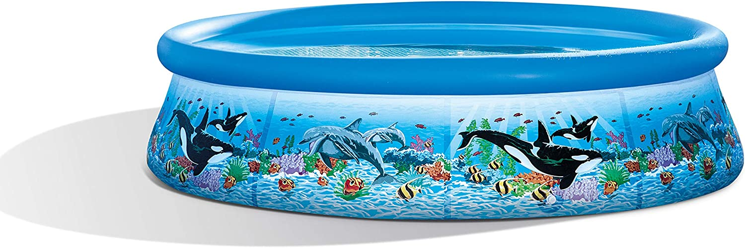 Intex Easy Set Ocean Reef Pool, diámetro 305 x 76 cm: Amazon.es ...