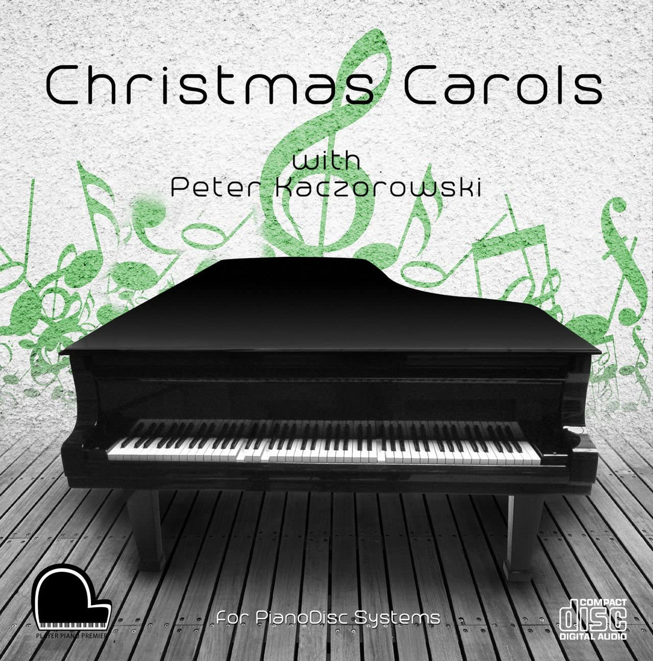 Christmas Carols - PianoDisc Compatible Player Piano CD