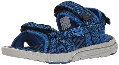 Kamik Kids Match Blau, Kinder Sandale, Größe EU 35 - Farbe Navy-Blue