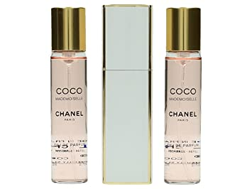 4bbb2ea0 Chanel Coco Mademoiselle Eau de Parfum Twist and Spray 3 x 20ml Purse Spray