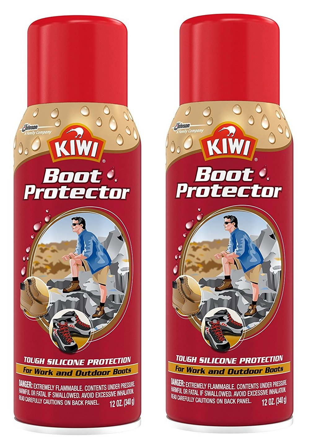 Kiwi Boot Protector, 12 Ounce by Kiwi (2-PACK)