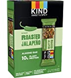 KIND Roasted Jalepeno  Sweet and Spicy Bar, 10g Protein