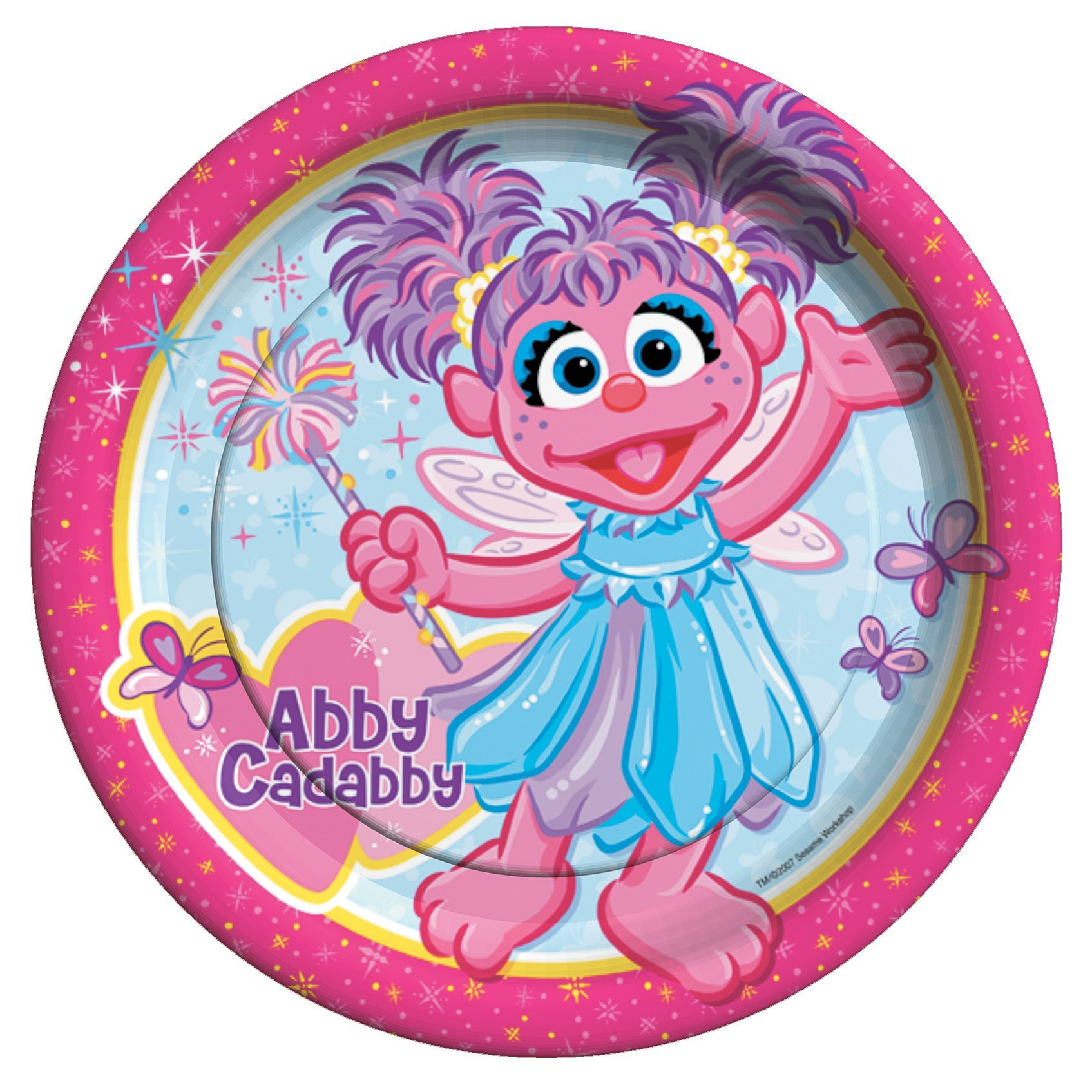 Abby Cadabby Dinner Plates by Official Costumes