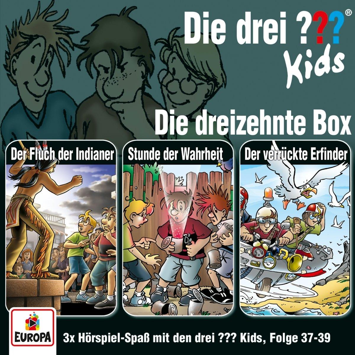 13/3er Box (Folgen 37, 38, 39)