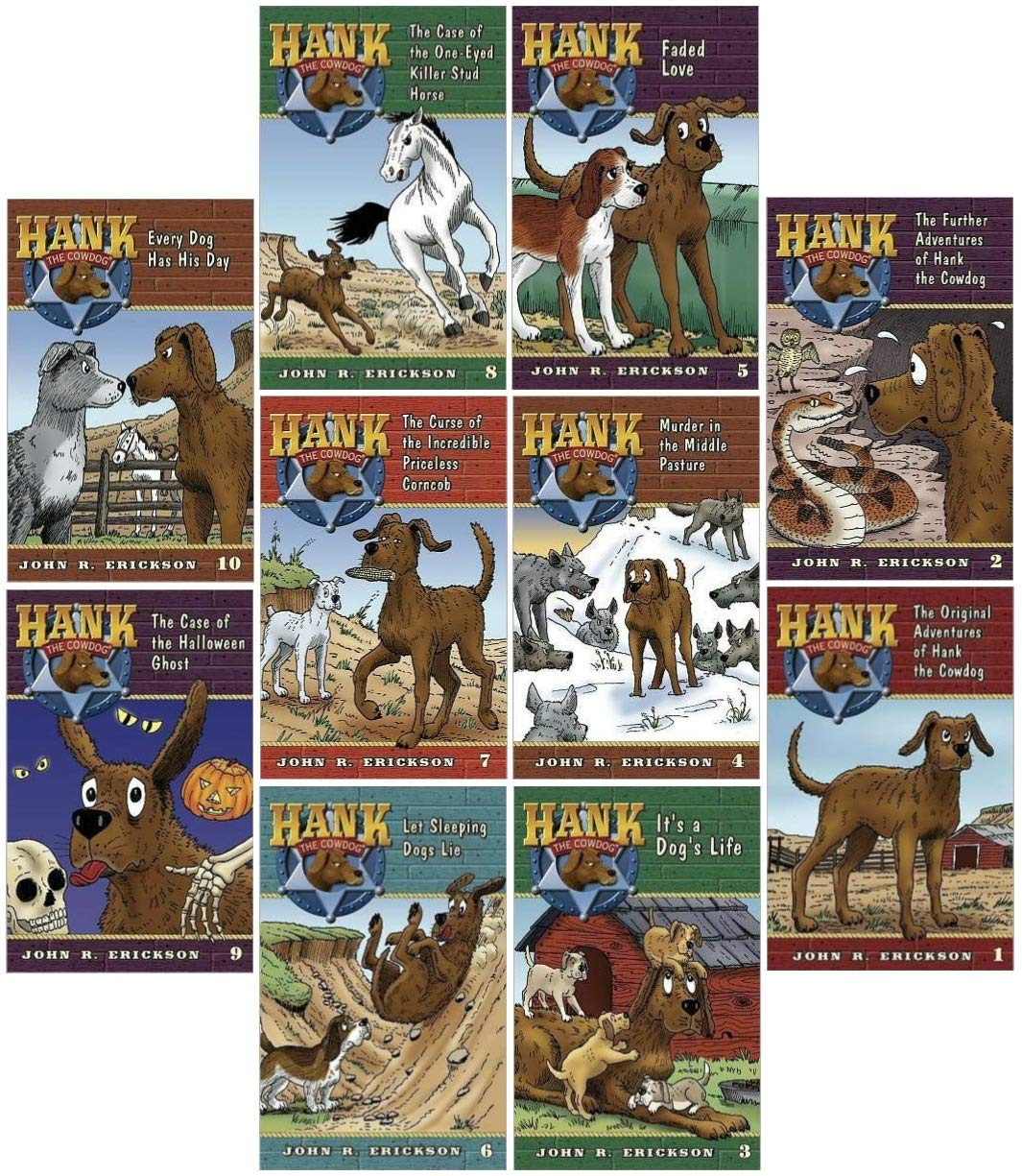 Hank the Cowdog Set by [publisher]