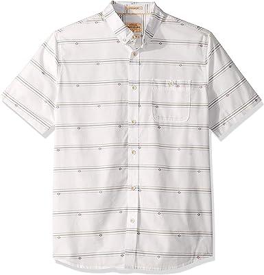 Quiksilver Hombre EQMWT03244 Manga corta Camisa de botones: Amazon.es: Ropa y accesorios