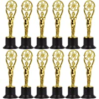 Trofeos en miniatura para cineastas, amantes del cine, fiestas temáticas de Hollywood de Juvale (paquete de 12), en…