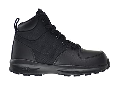 The Cheapest Boots Shoes Mens Nike ACG Manoa Black/Black/Black