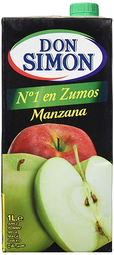 Don Simon Zumo de Manzana - Pack de 12 botellas x 1 l - Total: