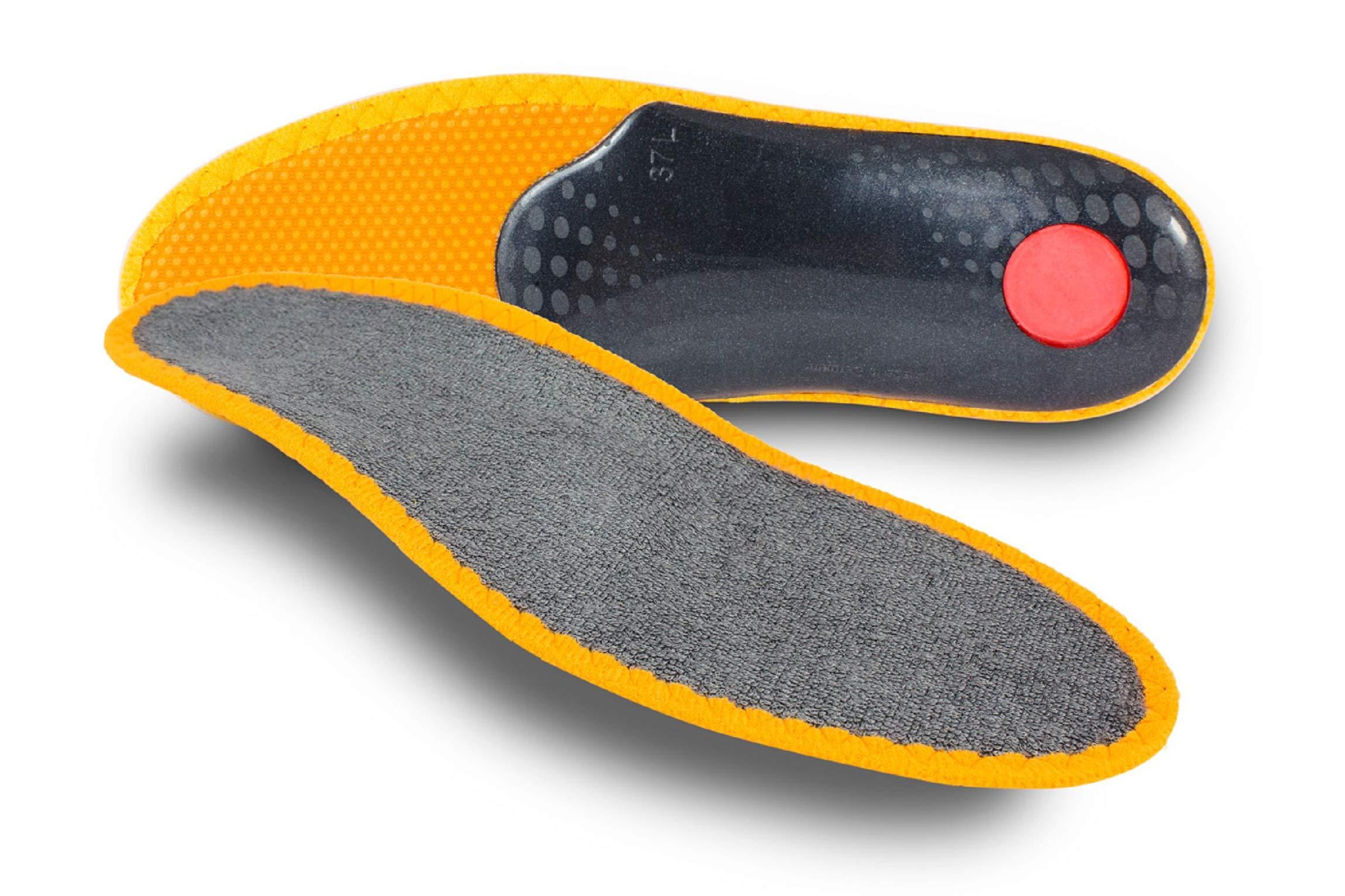 Pedag Sneaker Magic Step Memory Foam Orthotic Insole, M12/eu 45, 4.0 Ounce