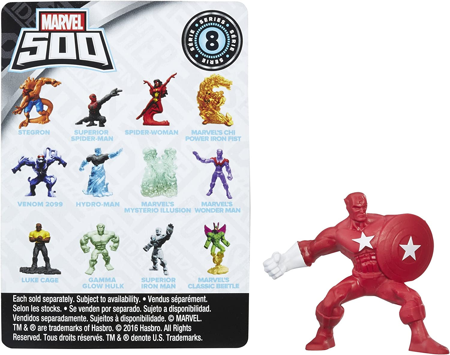 Marvel 500 Series 8 MARVEL/'S CLASSIC BEETLE Figure