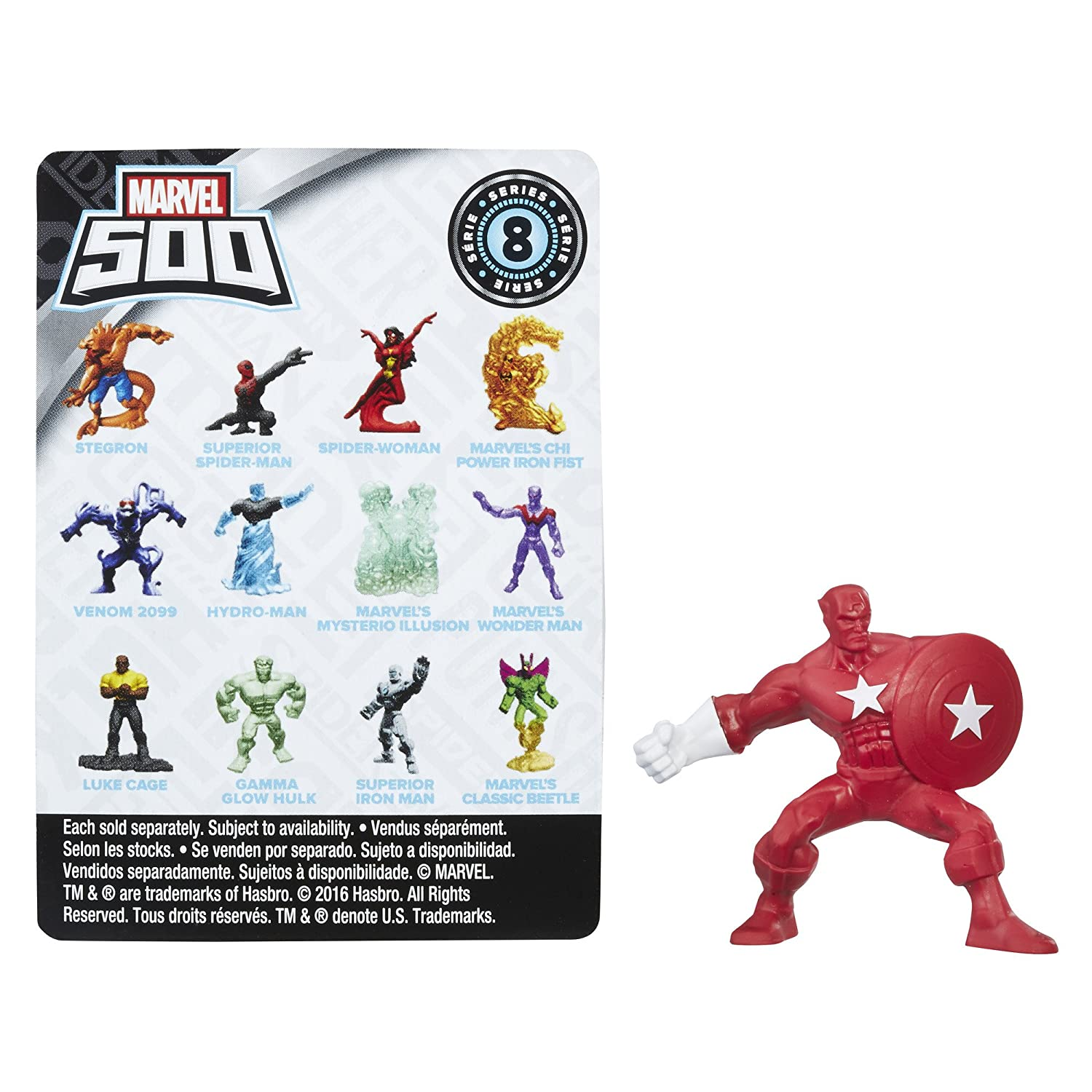 Marvel 500 Series 8 SPIDER-SLAYER JAMESON Figure