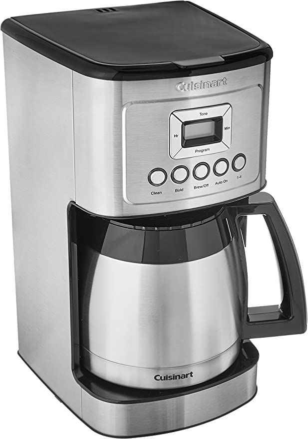 Cuisinart Stainless Steel Thermal Coffeemaker, 12 Cup Carafe, Silver   Amazon