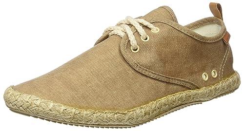 Springfield Alpargata Cordones, Hombre, Marrón (Brown), 40 EU: Amazon.es: Zapatos y complementos