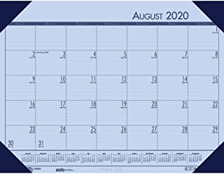 product image for House of Doolittle 2019-2020 Academic Desk Pad Calendar, EcoTones, Blue, 18.5 x 13 Inches, August - July (HOD012540-20)