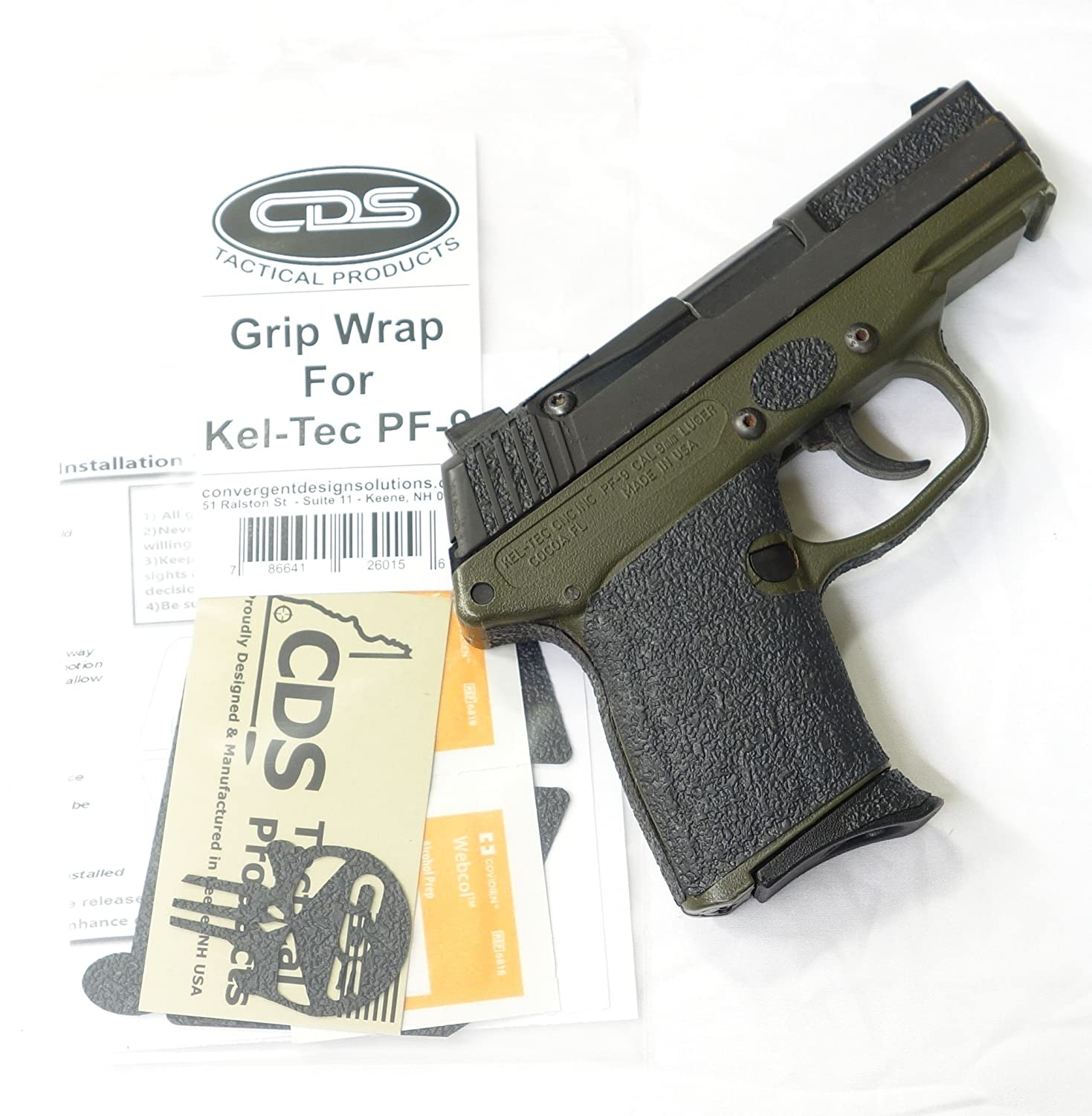 Grip Wrap for Kel-Tec PF-9 Gen 2, Grips - Amazon Canada