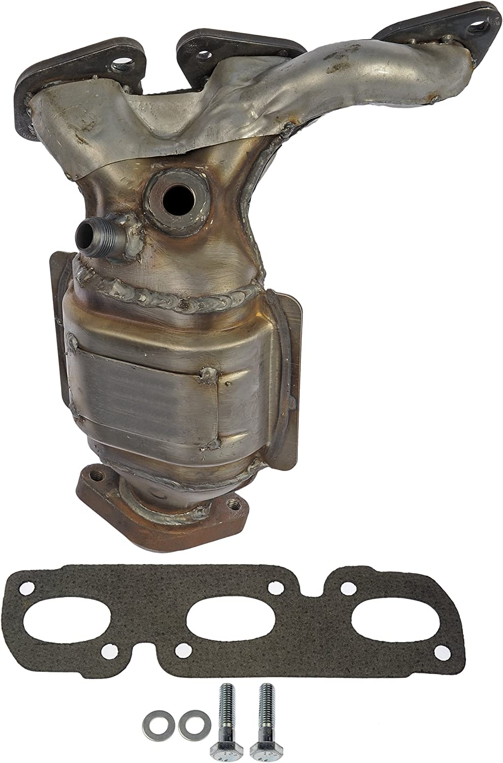 Non-CARB Compliant Dorman 674-933 Exhaust Manifold with Integrated  Catalytic Converter