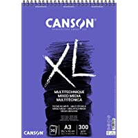 Bloco Espiralado XL Media A3 300g/m², Canson, 60807216, Mix, 30 Folhas