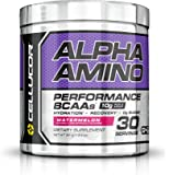 Cellucor Alpha Amino Performance BCAA Powder, BCAAs & Essential Amino Acids for Recovery, Watermelon, 30 Servings