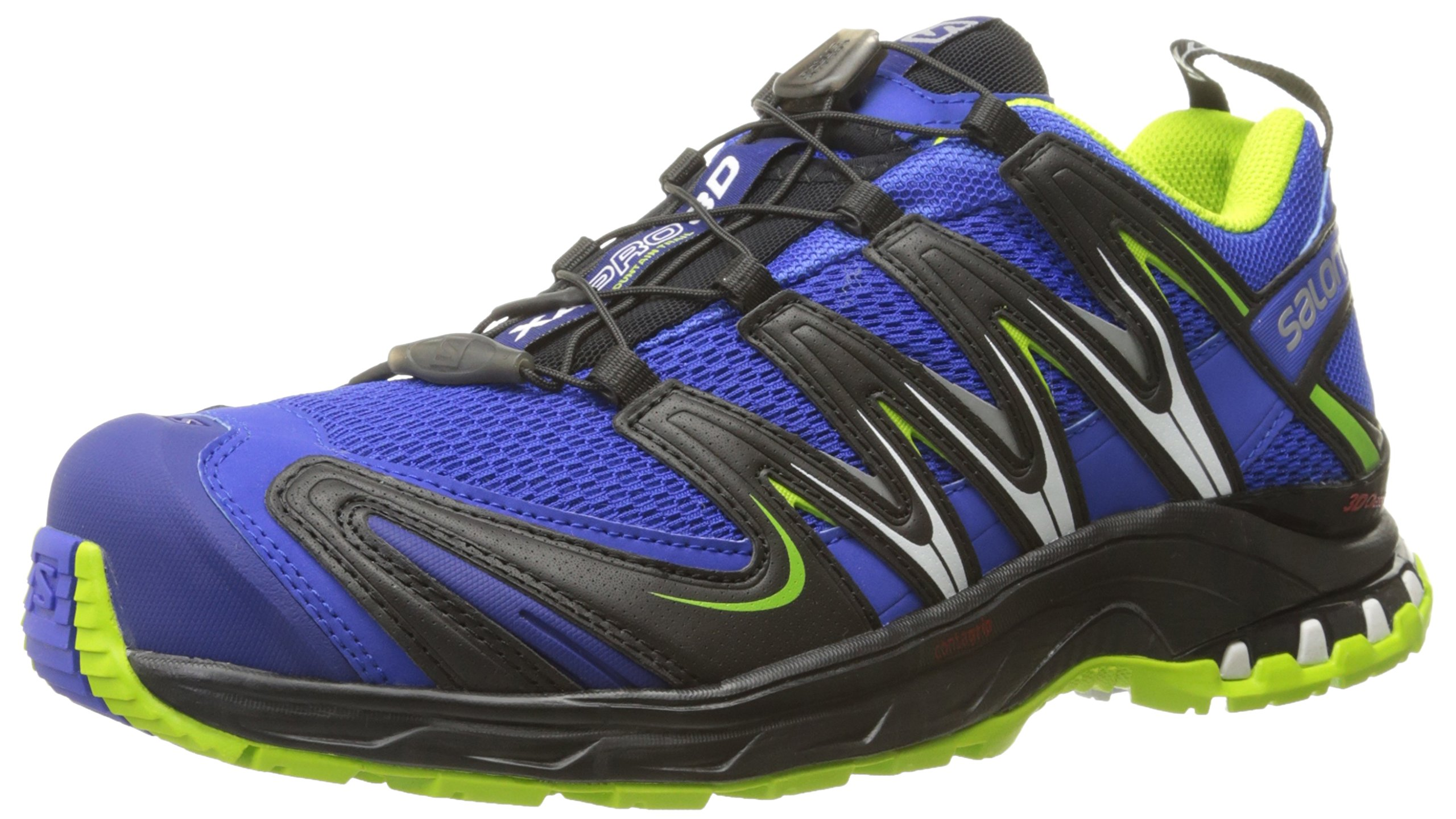 SALOMON Men's XA PRO 3D, Cobalt/Process Blue/Granny Green, 10 D US by SALOMON
