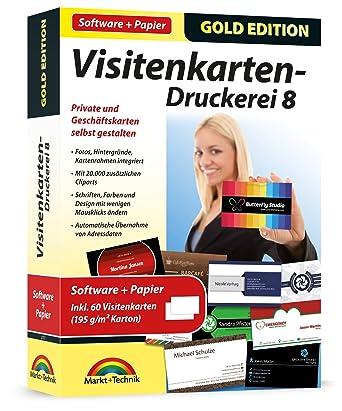 Visitenkarten Druckerei 8 Mit Papier