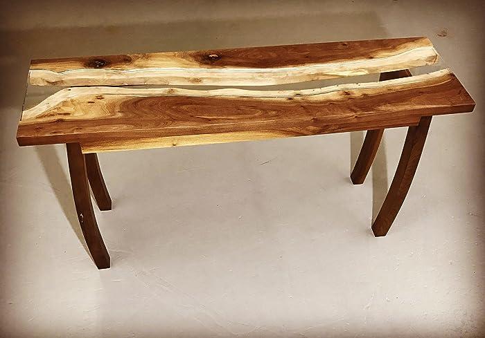 amazon com live edge sofa table handmade rh amazon com live edge wood sofa table live edge sofa table images