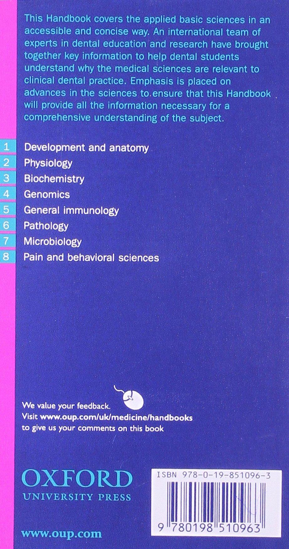 Dental book oxford