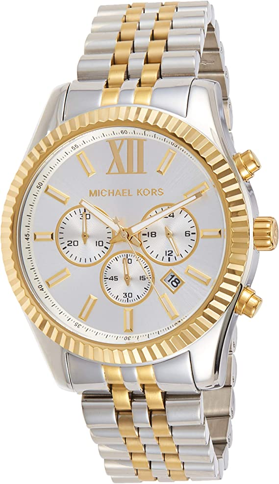Michael Kors Men's Lexington Chronograph  Stainless Steel Watch