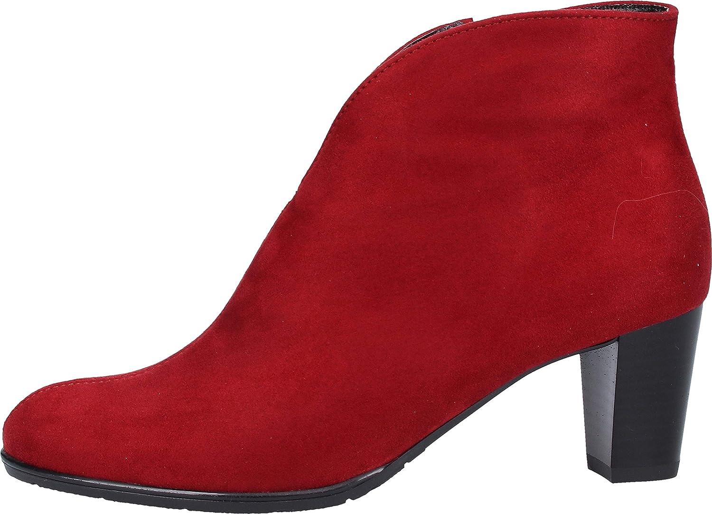 ARA Toulouse 1243408, Stivali Donna Colore Rosso